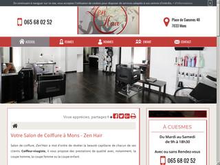 Trouvez votre salon de coiffure à Mons