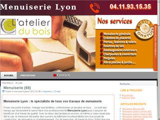 Artisan menuisier Lyon