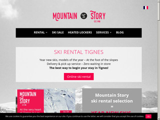 Votre magasin de ski Mountain Story
