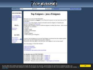 Top enigmes - Enigmes logiques