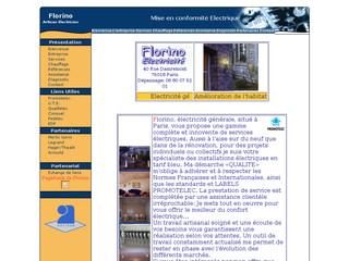 Electricité : FLORINO à Paris (75)