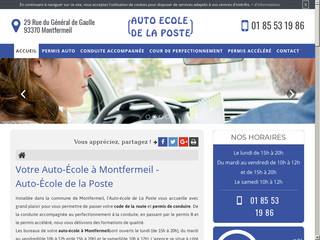 Auto-École Auto-École de la Poste à Montfermeil