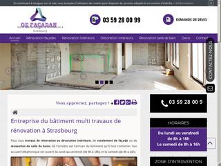 Rénovation de salle de bains à Strasbourg