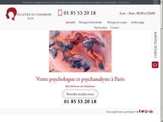 Psychologue couple à Paris, Alix Pelletier de Chambure
