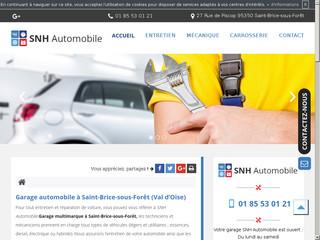 Entretien automobile à Saint-Brice-sous-Forêt, SNH Automobile