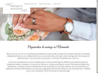 photographes de mariage - Mariage en Normandie