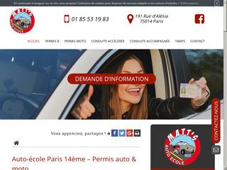 Formation à la conduite en accéléré à Paris 14