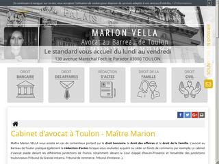 Cabinet d'avocat à Toulon en droit civil, Maître Vella