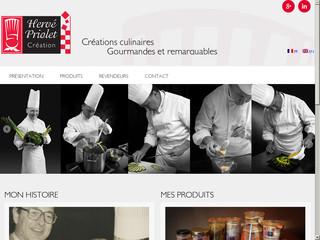 Herve Priolet Creation Recettes Gastronomiques