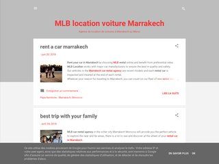 MLB location de voitures à Marrakech
