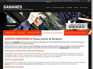 Garage carrosserie automobile près de Bordeaux