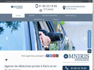 Agence de détective privé à Paris, Omniris Investigations