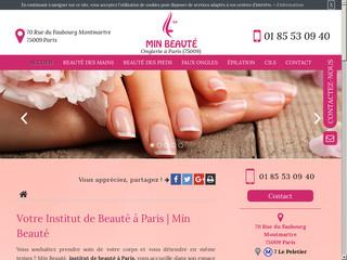Manucure et soin des mains à Paris, Min Beauté