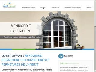 Ouest Levant, rénovation de menuiseries, 85