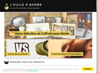 L'Huile à Barbe : tests d'huiles à barbe naturelles