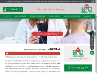 Des soins infirmier spécifique à domicile à Nivelles