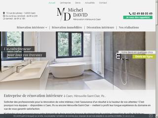 Travaux de rénovation intérieure à Caen