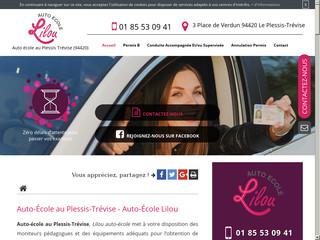 Obtention de permis de conduire au Plessis-Trévise.