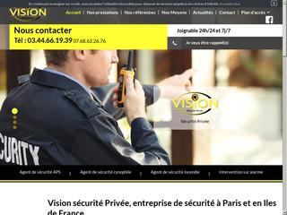 Vision Sécurité Privée
