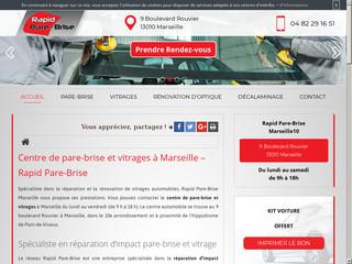 Spécialiste dans la  réparation de pare-brise à Marseille 10