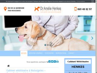 Cabinet vétérinaire Amélie Henkes à Huissignies