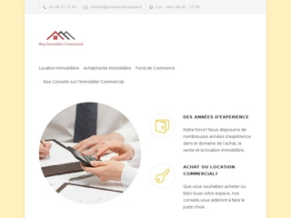 Blog immobilier commercial