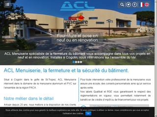 ACL Menuiserie, le spécialiste de la menuiserie aluminium et PVC à Cogolin - Var