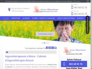 Hypnose Mons: Actium Hypnose hypnothérapeute à Mons