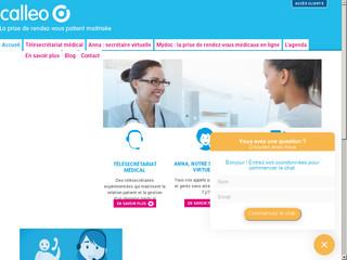 Plateforme de télésecrétariat médical de Calleo