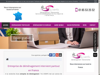 Déménagement en Ile-de-France, Déménageur | HL EVENTS