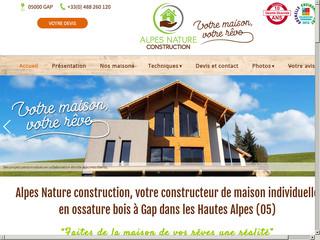 Construction : Alpes Nature Construction à Gap (05)