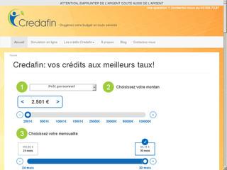 Rachat de crédit hypothécaire et regroupement de crédit: Credafin