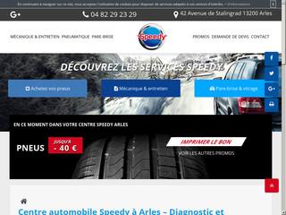Centre d'automobile Speedy à Arles