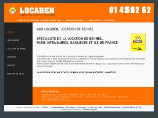 Location de benne Locaben