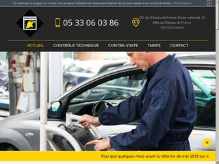 Contrôle technique de votre voiture à Lormont