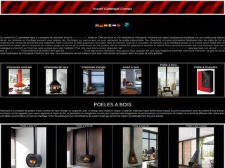 Fabricant de poêles à bois, cheminées et inserts de luxe