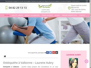Ostéopathe pour enfants à Valbonne