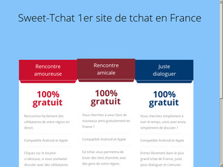 Sweet-Tchat le site de dialogue en direct gratuit