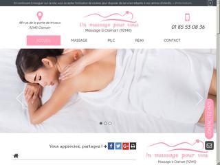 Trouver un salon de massage à Clamart