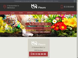 Artisan fleuriste à Bordeaux, MN Fleurs