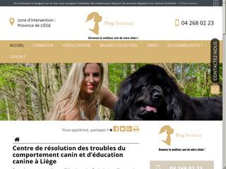 Educateur Canin comportementaliste à Liège, DogInstinct