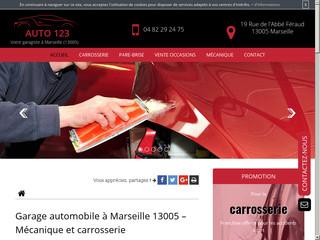 Réparation mécanique à Marseille, Garage Auto 123