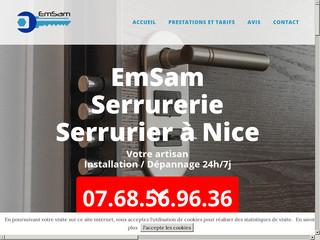 EmSam Serrurerie Nice 7/24