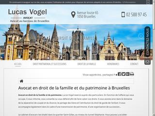 Cabinet d'avocat en droit du divorce à Bruxelles