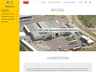 Porte industrielle EMI