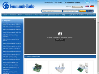 Commande Radio, Système télécommande san fil