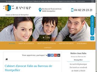 Avocat en droit de la famille à Montpellier, Maître Jean Falin