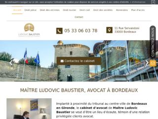 Avocat pénaliste à Bordeaux : Maître Ludovic Baustier