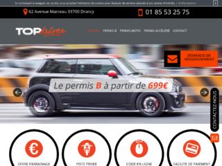 Votre permis B à Drancy :Top Driver