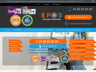 Electricien en Île-de-France : Entreprise EPOS